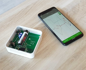 Temperature sensor Web App